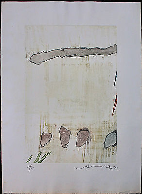 HSIAO CHIN (蕭勤) incisione acquatinta 70x50 firmata numerata  1977 handsigned