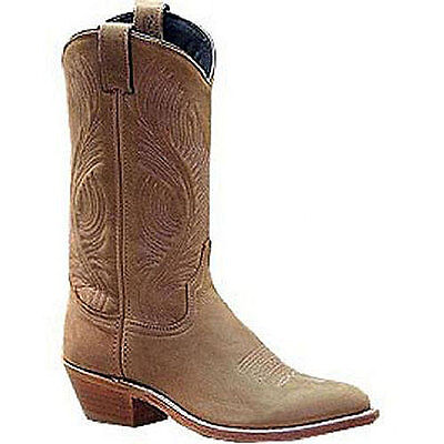 9057 Abilene Ladies 11 Inch Distressed Tan Western Boot NEW