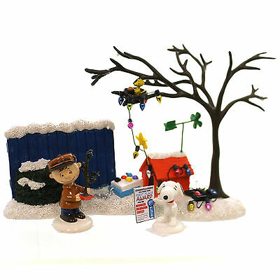 Peanuts TRUE MEANING OF CHRISTMAS Polyresin Figurine Snoopy Charlie 4043272