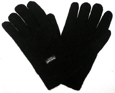 Brand New Mens Thinsulate Insulation Black Gloves
