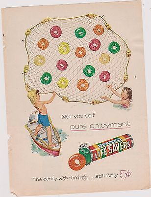 Life Savers Candy  Ad    -Good For Framing