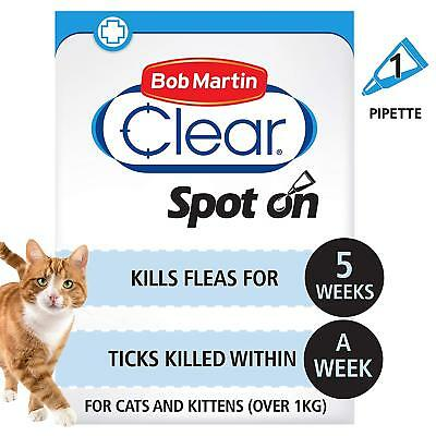 Bob Martin FleaClear Spot On for Cats