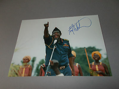 Forest Whitaker signed signiert autograph Autogramm auf 20x28 Foto in person