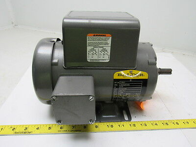 Baldor L3507 3/4HP Electric Motor 115/230/208V 1PH 56Frame 1725RPM
