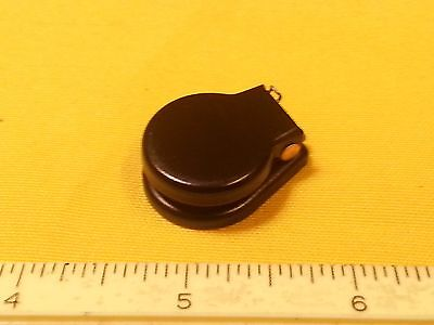 Jack Cover Black Switchcraft MPN 515 For Guitars and Amps