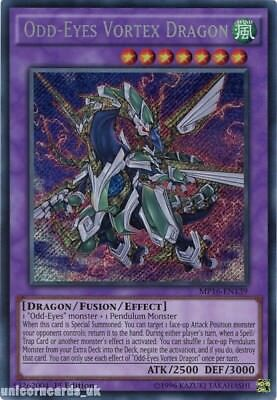 MP16-EN139 Odd-Eyes Vortex Dragon Secret Rare 1st Edition Mint YuGiOh Card