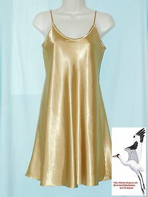 Womens/Girls Petticoat Slip Chemise Satin Silk Mellow Accents brand s.10-12