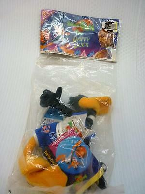 1996 McDonalds Toy Space Jam Daffy Duck New in Sealed Pkg  (pt1151)