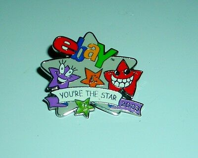 "Ebay You're The Star 2003 1"" Pinback"