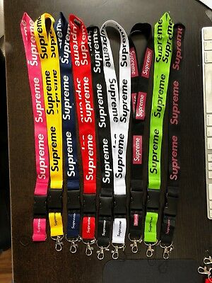 Supreme Lanyards - Choose Color  **us Seller **** Fast Shipping** Hot
