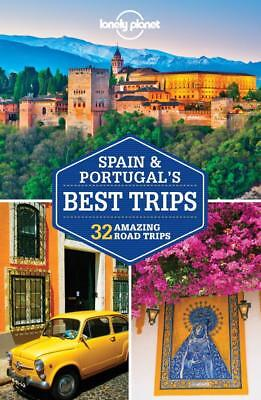NEW Spain & Portugal's Best Trips By Lonely Planet Paperback Free Shipping