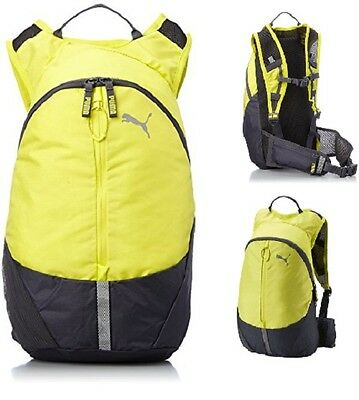 Mens Womens Running PUMA Lightweight BACKPACK Sports Fitness Back Pack Bag Zip