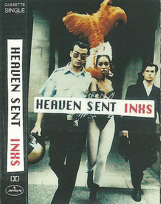 INXS ‎Heaven Sent CASSETTE SINGLE Mercury INXMC 19 Pop Rock Synth-pop 1992