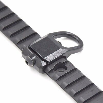 Brand New QD Sling Mount Plate Adaptor Attachment Steel For 20mm Picatinny Rail