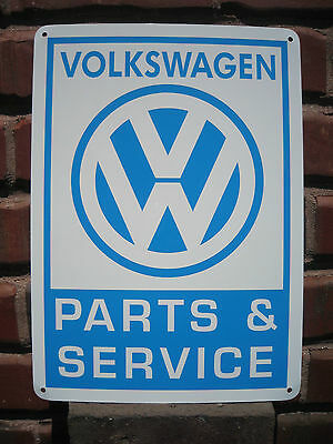 Volkswagen Parts & Service sign VW Bug Bus Bettle 66 69