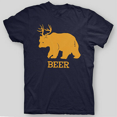 BEER DEER BEAR Sunny In Philadelphia PADDY's Party Comedy T-Shirt SIZES S-5X
