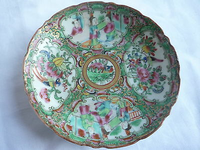 Antique Chinese Porcelain Colourful Painted Plate