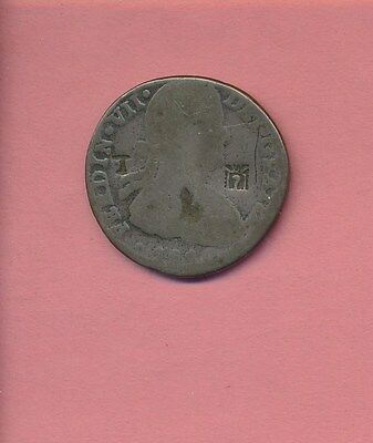 Mexico - Silver - Crown Ferdinand Vii - Rare Counter Stamped Insurgent