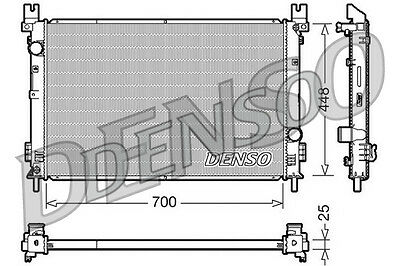 Denso Radiateur drm06001 remplacement 05102435aa