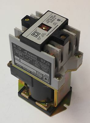 Square D 8501XD020 Type XD Series A 4 Pole Industrial Relay 24 VDC Coil