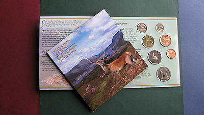 Ireland: Irish Official Mint Coin Set 1996 Uncirculated 7 Coin Collection Lots !