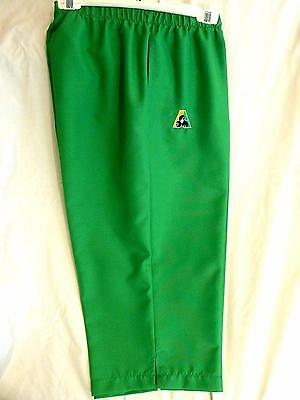 Lawn Bowls Clearance: NEW Domino Ladies 3/4 Pants Size 18 Jade Green FREE SHIP