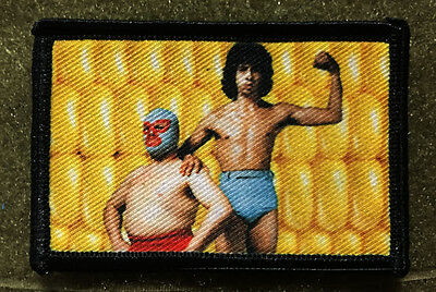 Nacho Libre Movie CORN Morale Patch Jack Black Funny