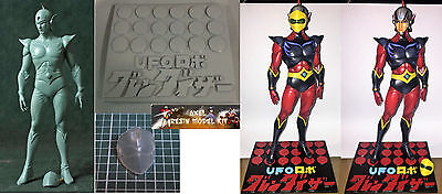 Anime Model Resin Kit - 1/8 Grendizer Goldrake Duke Fleed Actarus Wf16