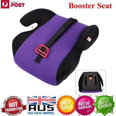 Sturdy Safe Car Seat Cushion Booster Seat Purple for Baby Kids Children