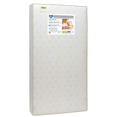 Delta Radiance Firm 2 Stage Dual Sided Crib and Toddler Mattress
