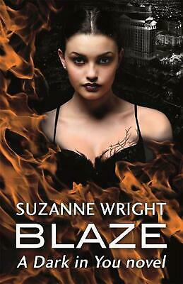 Blaze by Suzanne Wright Paperback Book Free Shipping!