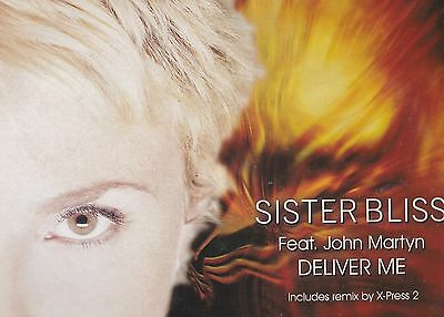 Sister Bliss Feat. John Martyn - 'deliver Me (2001 12'')