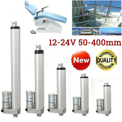 30mm/s 50mm-300mm Multi-function Linear Actuator Motor Stroke Heavy Duty DC 12V