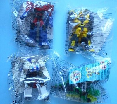 McDonalds Happy Meal -  Transformers -  Robot In Disguise  2017 Set di 4 Figure