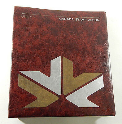 1979 Unity Canada Stamp Album Collectors Binder with (160) Pages No Stamps