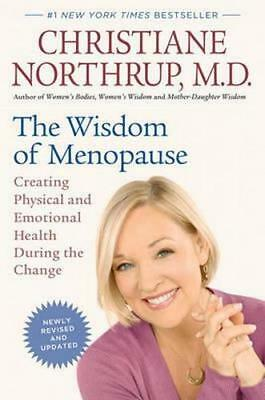 NEW The Wisdom of Menopause By Christiane Northrup Paperback Free Shipping