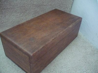 An Old Wooden Box A Great Collectable Box