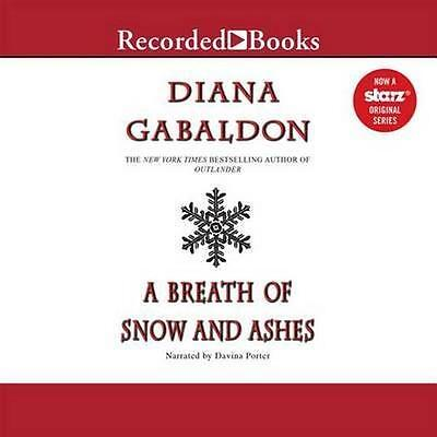 NEW A Breath of Snow and Ashes By Diana Gabaldon Audio CD Free Shipping