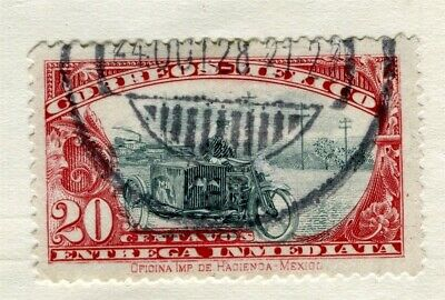 MEXICO;  1930s early AIR issue fine used 20c. value