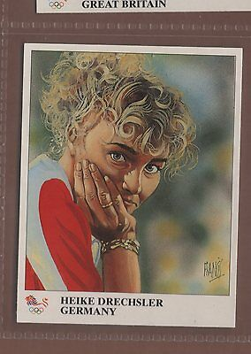 #47 Heike Drechsler, Germany - Olympic Champions Card