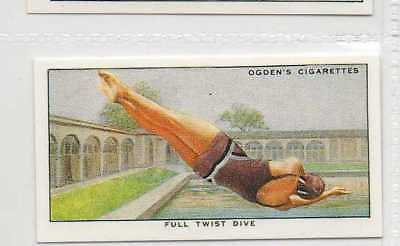 #48 full twist dive swimming r card