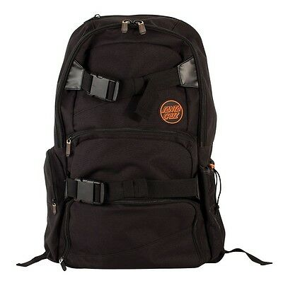 Santa Cruz SCS VOYAGER Skateboard Backpack BLACK