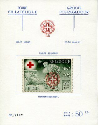 Belgien 1939 504 ** Private Spendenausgabe(49726
