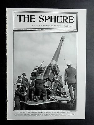 1917 Sphere-like Illustrated London News 1st World War,Ypres,German Aircraft