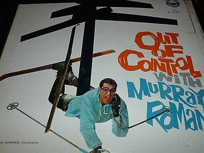 Murray Roman ‎Out Of Control With Murray Roman Vinyl LP Everest LPBR9005 3/8