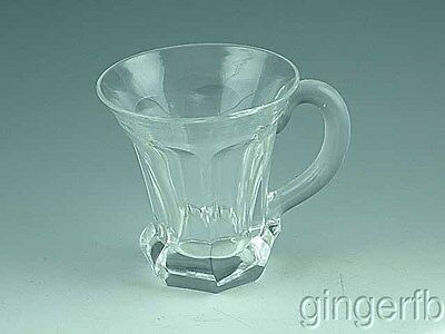Early 19th Century Blown Flint Glass Punch Cup