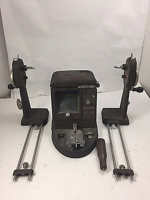 Vintage BELL & HOWELL 16mm FILMO Film VIEWER W/ REWIND Arms