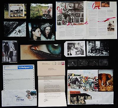LISTED Peter Beard AUTHENTIC COLLECTION of 8 ORIGINAL Photographs & 2 Collages