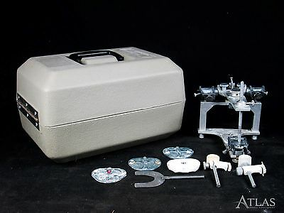 Whip Mix 8500 Dental Laboratory Articulator w/ 4 Mounting Plates & Case