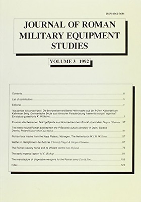 M. C. Bishop-Journal Of Roman Military Equipment  (UK IMPORT)  BOOK NEW